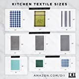 DII CAMZ10628 Cotton Plaid Kitchen