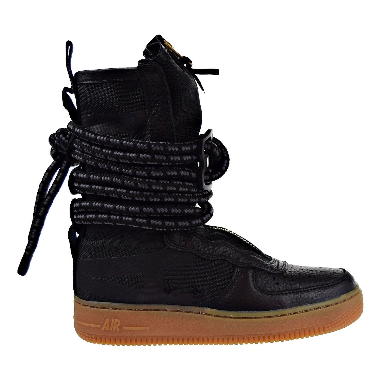 quality design 2a9f6 6e72b Nike SF Air Force 1 High Top Womens Boots Black/Gum Light ...