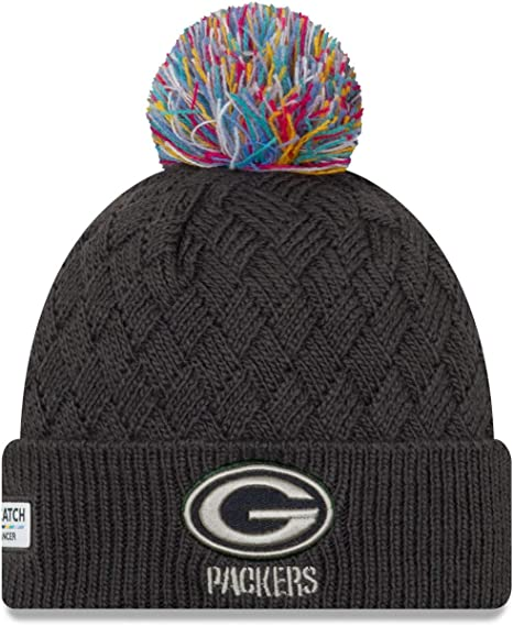 New Era Women Knit Beanie Crucial Catch Green Bay Packers Amazon Co Uk Sports Outdoors