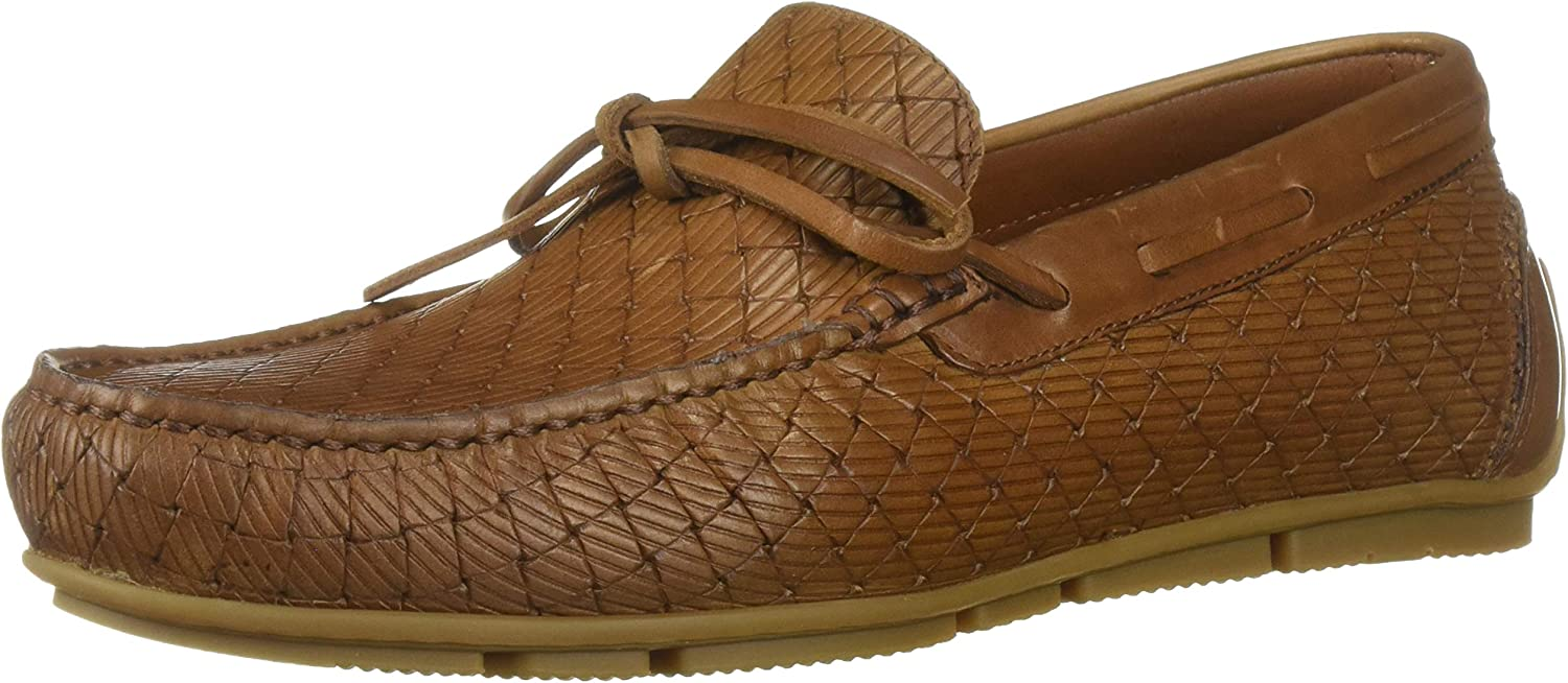 Aquatalia Men's Raleigh Mall Brian LGE Woven Embos Driving Be super welcome CLF Style Loafer
