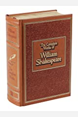 The Complete Works of William Shakespeare (Leather-bound Classics) Leather Bound