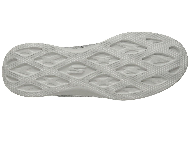 Skechers Performance Women's Go Step Lite-Solace Walking Shoe B07CG25FJN 7.5 B(M) US Grey/Wht