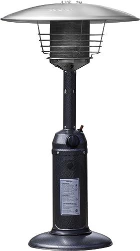 Hiland HLDS032-C HLD032-C Portable Tab Top Patio Heater