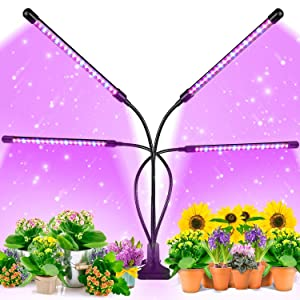 EZORKAS 9 Dimmable Levels Grow Light for Indoor Plants