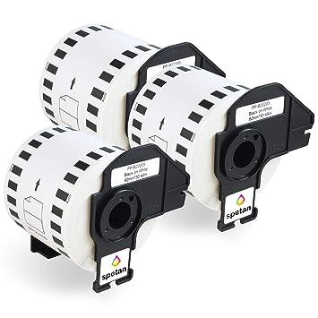 2x Etiketten kompatibel mit Brother DK-11221 P-Touch QL1050 QL1060N QL500 QL550