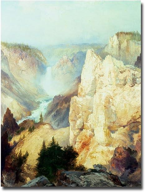 Grand Canyon of Arizona at Sunset Painting by Thomas Moran Art Reproduction