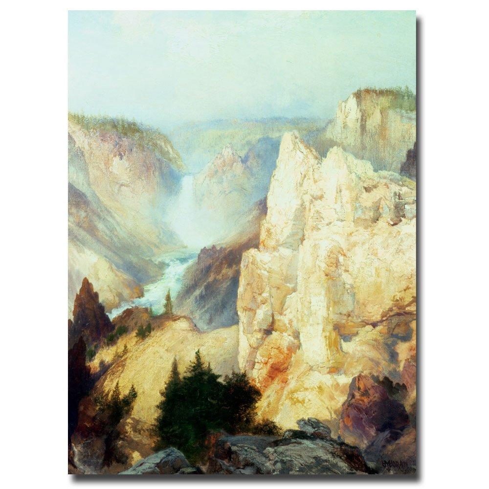 Amazon.com: Trademark Fine Art Grand Canyon of Yellowstone by Thomas ...