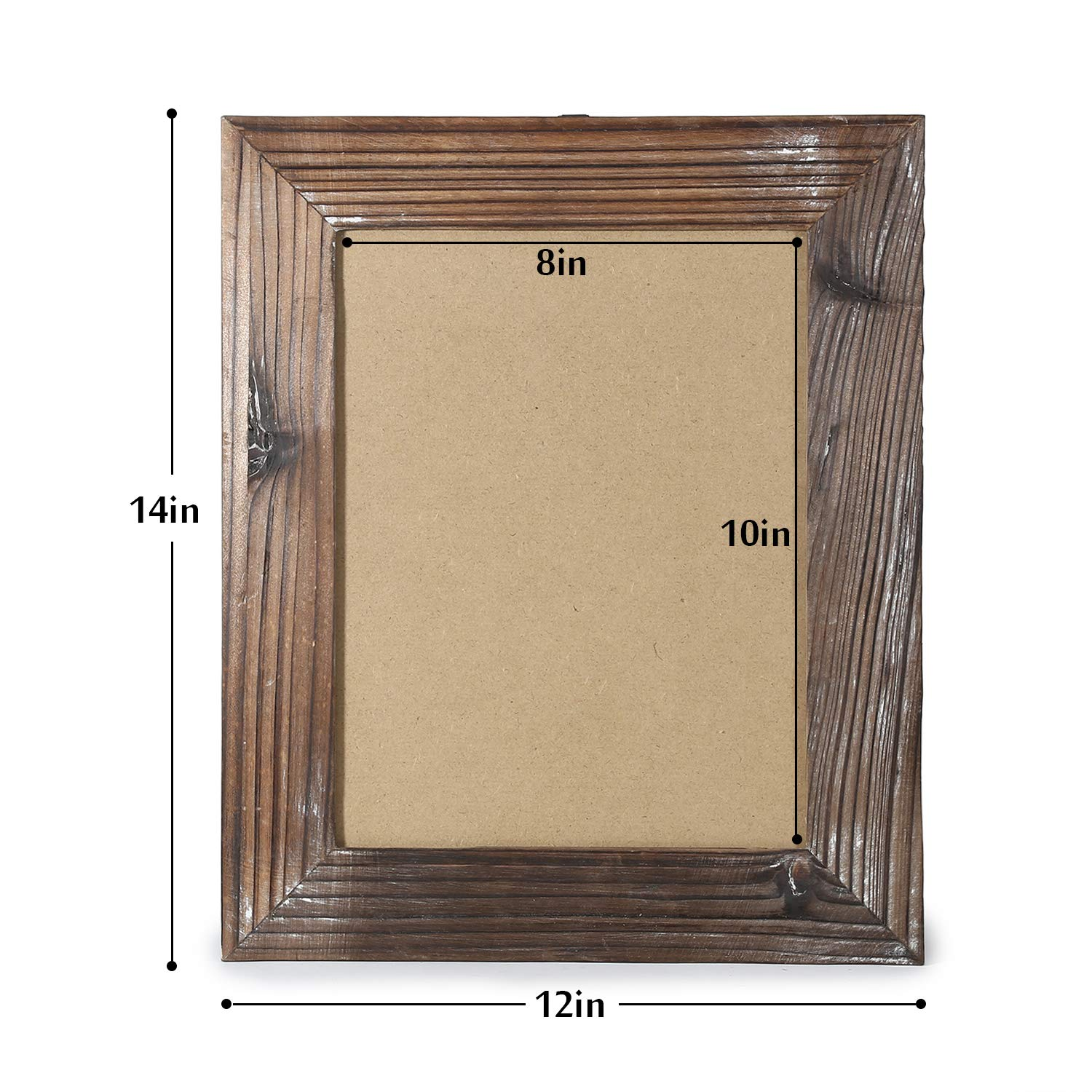 5 by 7-Inch, Nature Brown Cade 5x7 Picture Frame-Photo Album-Picture Frames-Rustic Photo Frames-2 Sets