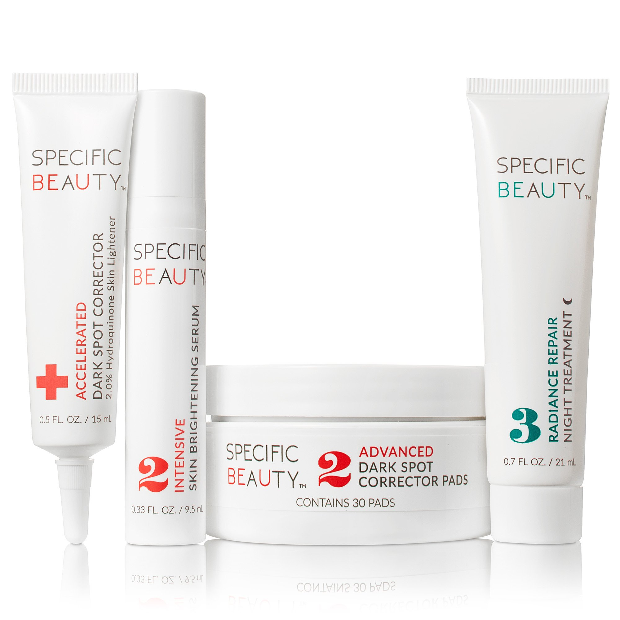 Specific Beauty - Overnight Targeted-Treatment Evening System - Starter Kit/30 Day Supply by Specific Beauty