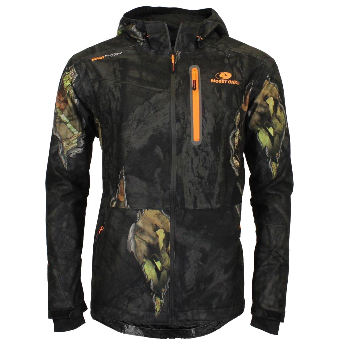 Boys Mossy Oak Eclipse Camouflage Waterproof Jacket - Hunting Fishing Outdoor Soft & quite tricot
