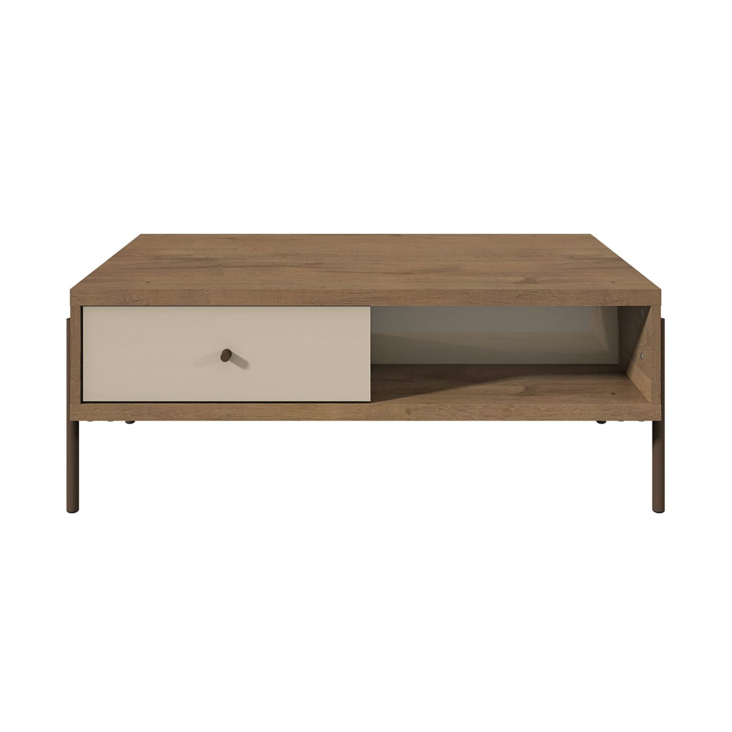 Oak Trendy White Desk Concepts Amazon.com: Manhattan Comfort 350644 Joy Series Modern Double Sided Coffee  Table Off-White: Kitchen u0026 Dining