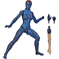 """MARVEL - Legends Series - X-Men - 6"""" Mystique - Blue - Collectible Mutant Action Figure - Toys for Kids - Boys and Girls…"""