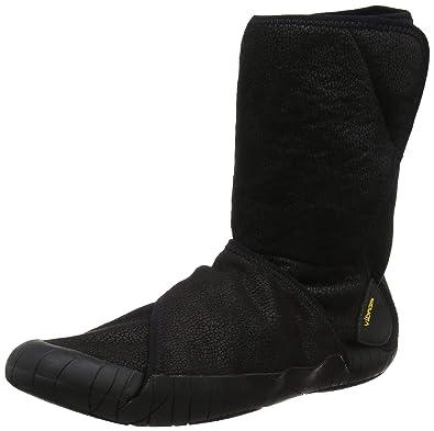 on sale 689cc 995aa Vibram FiveFingers Unisex Furoshiki Shearling Boot Black Boot XS  36-37 (US  Women s