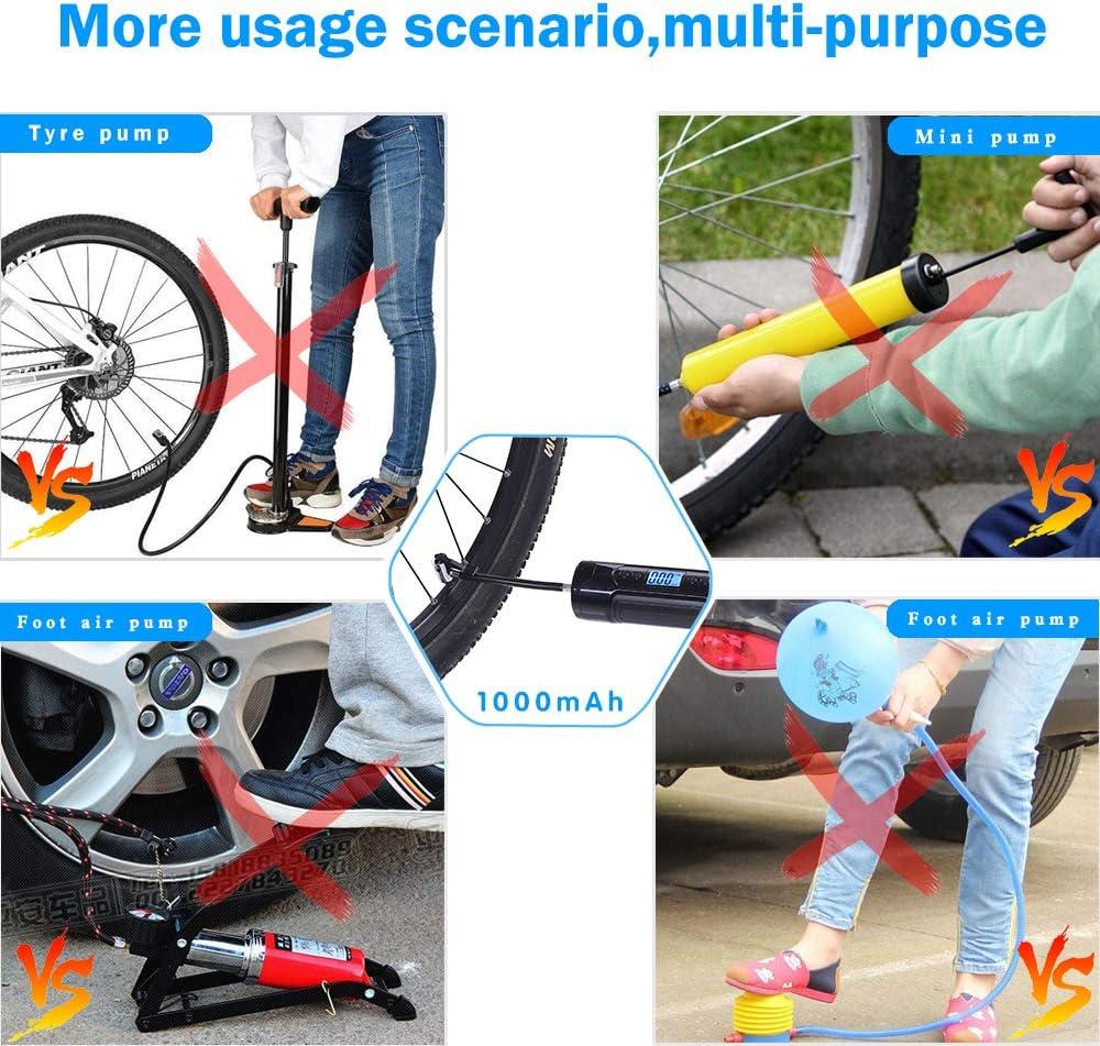 EY/_ JT/_ Portable Bike Pump Bicycle Pump US Type Air Pump MTB wheels Bycicle Acce