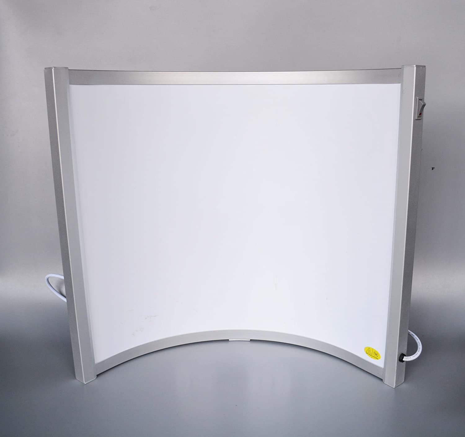 CURVED FREE STANDING 300W FAR INFRARED HEATING PANEL - PERFECT FOR HOME USE OR OFFICE USE - PLACE UNDER YOUR DESK Led Hero Ltd