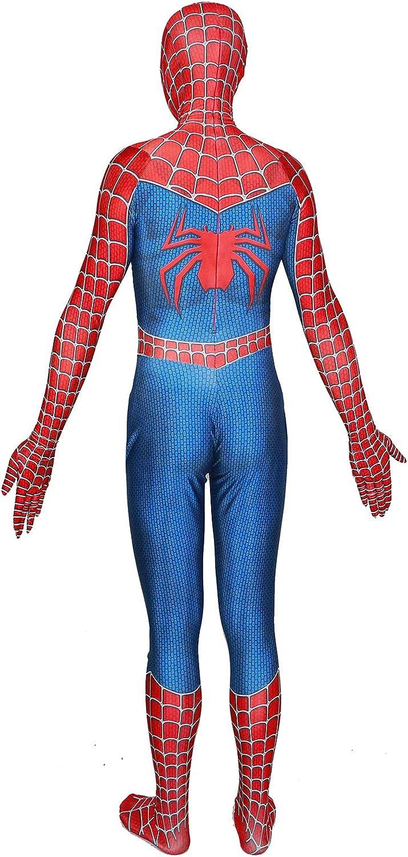 Crazycos Kids Unisex Adults Halloween Cosplay Costume 3D Style Lycra Spandex Zentai