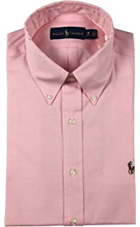 6abae16ec RALPH LAUREN Polo Mens Standard-Fit Striped Pony Logo Dress Shirt ...