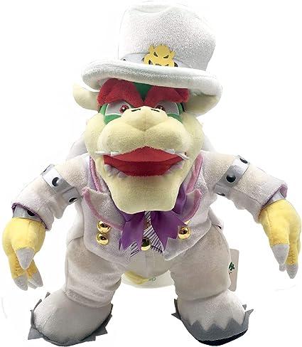 Super Mario Odyssey King Bowser Boss Breaks Into The Wedding Hall Plush Toy Stuffed Animal 14