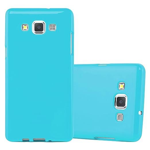 2 opinioni per Cadorabo- Custodia Jelly Silicone TPU per Samsung Galaxy A5 (Modello 2015) super