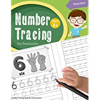 Number Tracing Book for Preschoolers: Number tracing books for kids ages 3-5, Number tracing workbook, Number Writing Practice Book, Number Tracing Book. Learning the easy Maths for kids