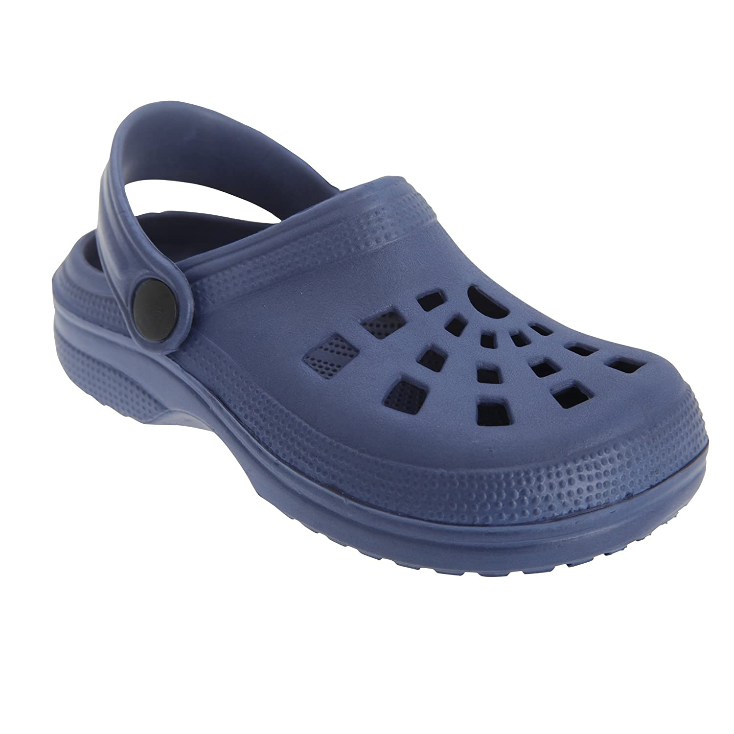 Universal Textiles Childrens/Kids Navy Summer Clog Sandals