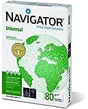 Navigator Universal Carta Premium per ufficio, Formato A4, 80 gr, Confezione da 5 risme