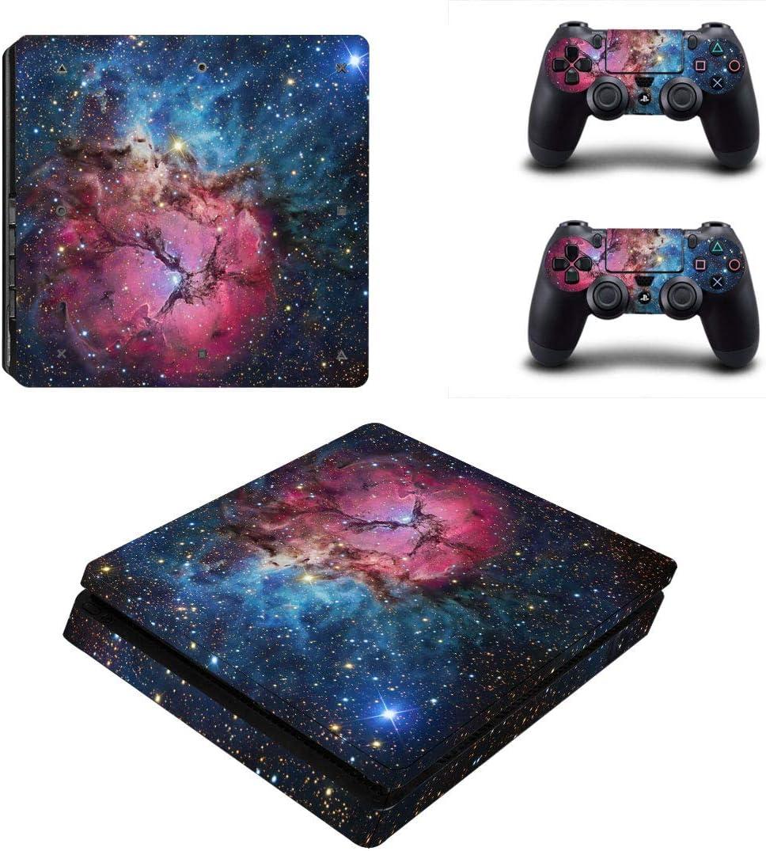 LLC Integral - Adhesivo para Sony Playstation 4 Slim PS4 (Incluye 2 Pegatinas para Mando dualshock 4): Amazon.es: Electrónica