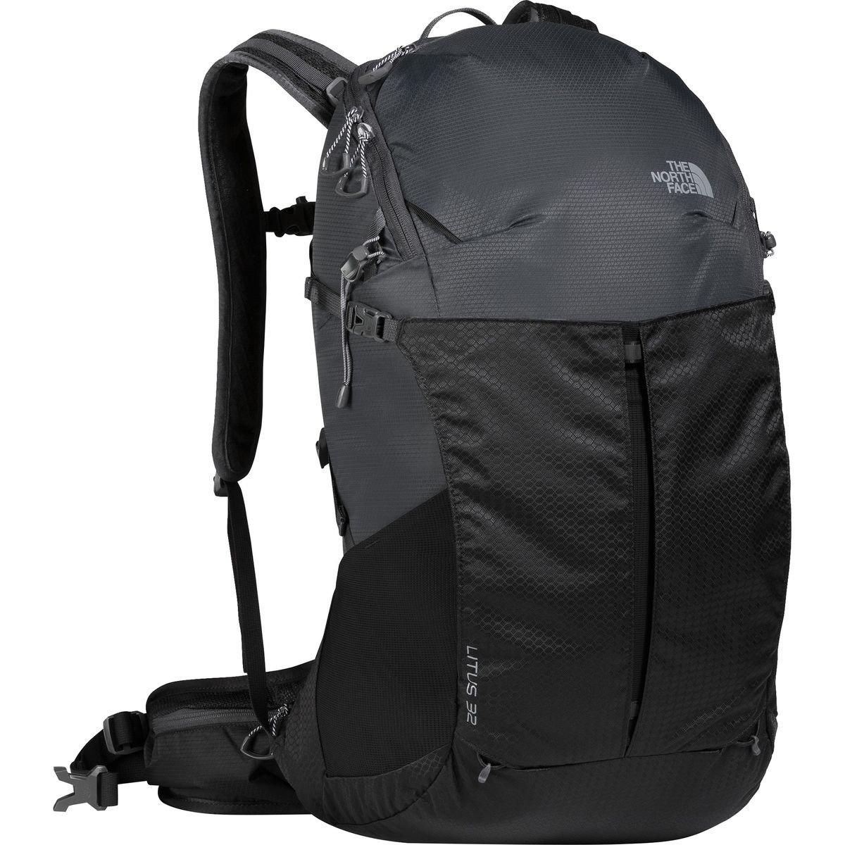 (ザノースフェイス) The North Face Litus 32 Backpack - 1892-2075cu inメンズ バックパック リュック Asphalt Grey/TNF Black [並行輸入品]   B07142TB4X