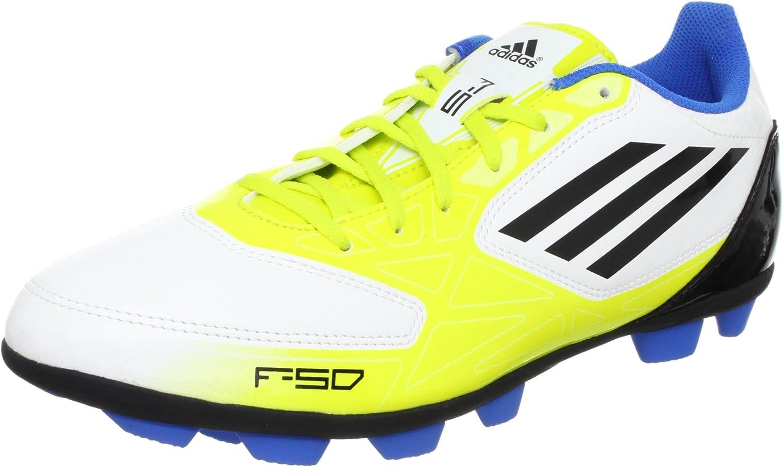 Botas Adidas F5 TRX HG -Amarillo-: Amazon.es: Deportes y aire ...