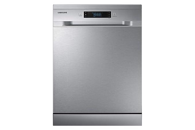 Samsung DW60M6050FS Independiente 14cubiertos A++ lavavajilla - Lavavajillas (Independiente, Acero inoxidable, Tamaño completo (60 cm), Acero ...
