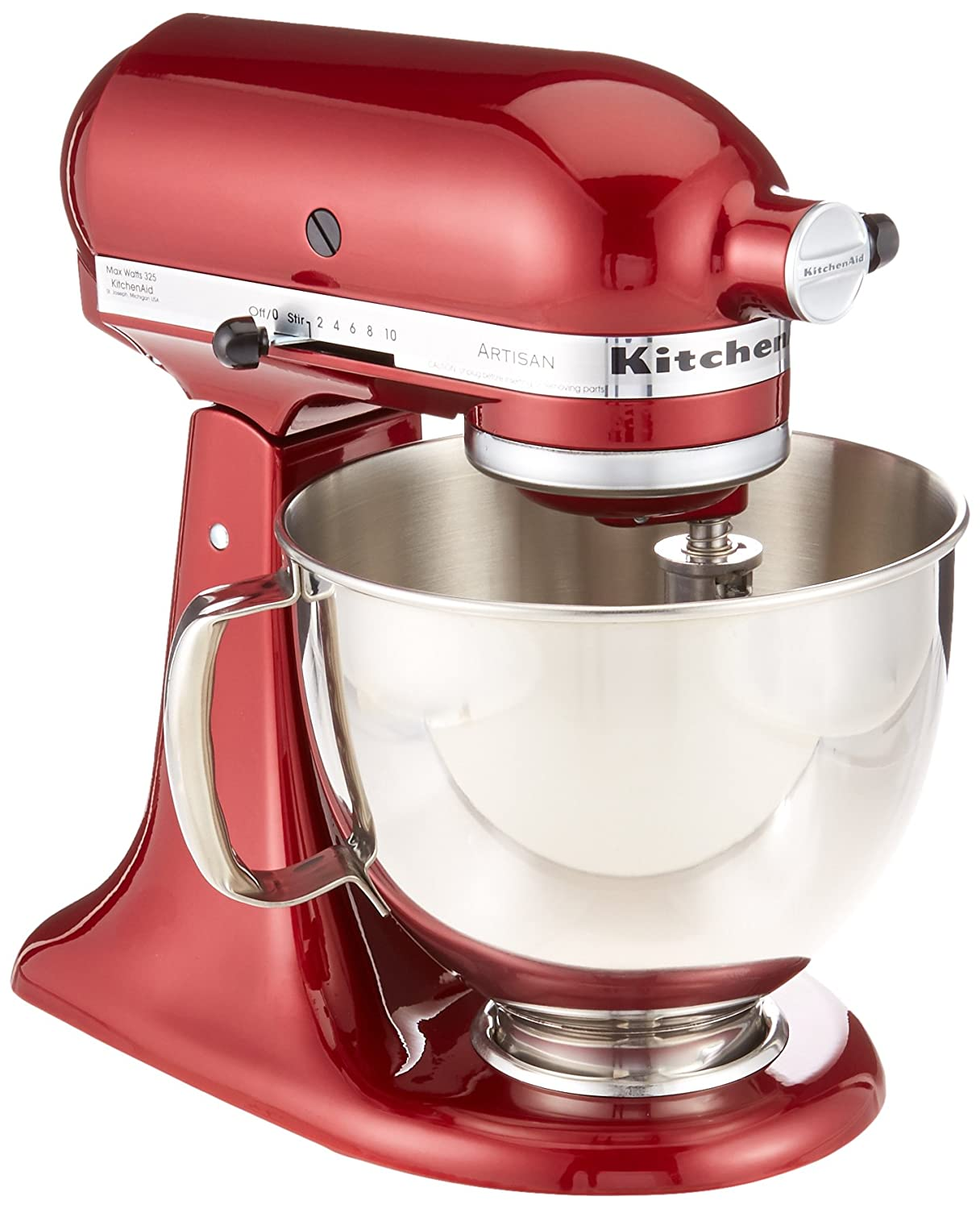 Amazon.com: KitchenAid RRK150GD Artisan Series Stand Mixer, 5 ...