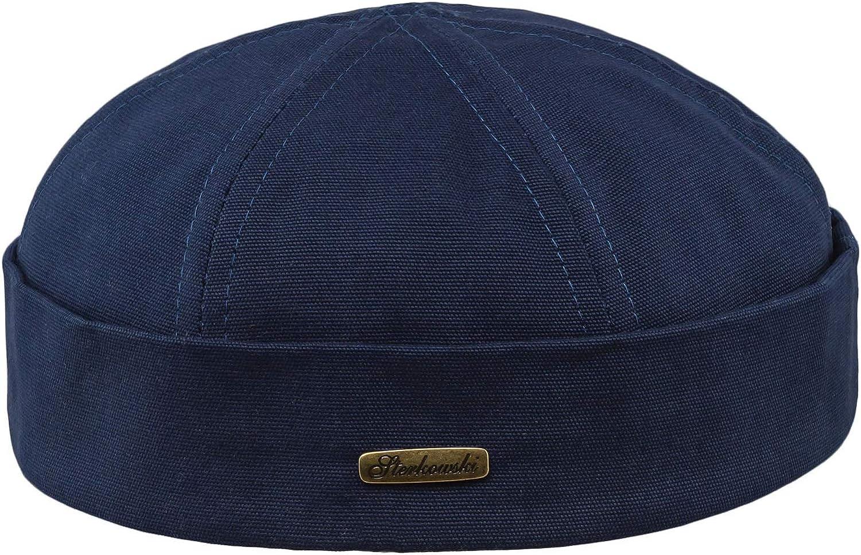 Umeepar Unisex Cotton Docker Hat Cap Cuffed Beanie Hat Harbour Sailor Summer Hat for Men Women
