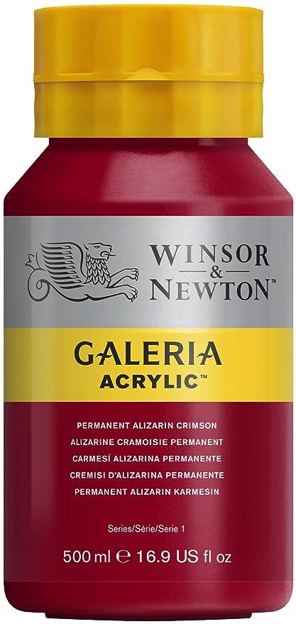 14 opinioni per Winsor & Newton- Flacone di colore acrilico Galeria da 500ml, con tappo