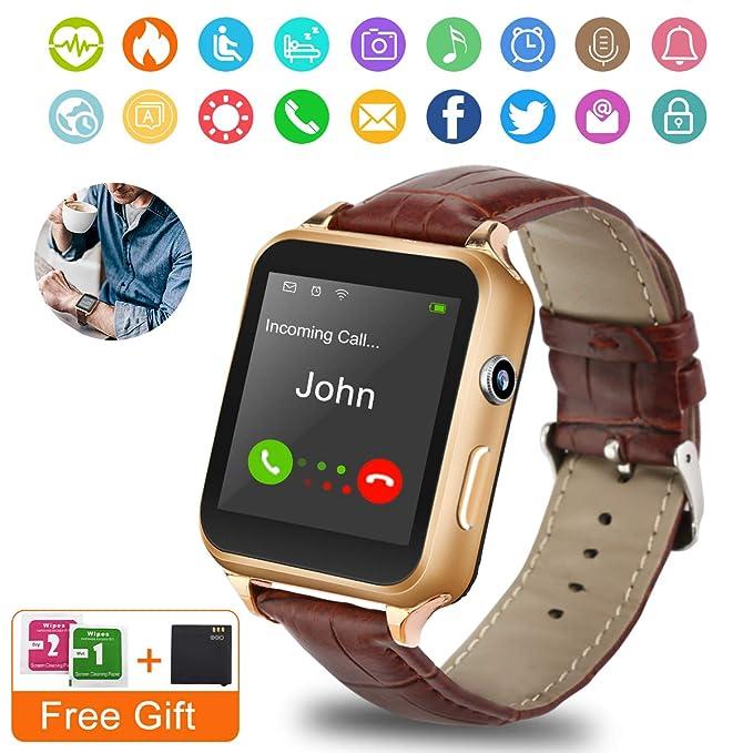 Amazon.com: Smart Watch,Bluetooth Smartwatch Touchscreen ...