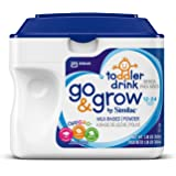 Go & Grow By Similac Milk Based Toddler Drink, Powder, 22.08 ounces (Pack of 6)