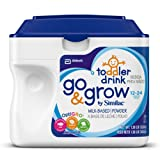 Go & Grow by Similac, Stage 3 Milk Based Toddler Drink, Powder, 22.08 Ounces  (Pack of 6)
