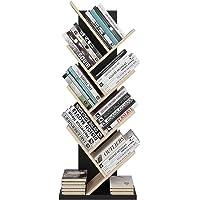 Homfa Bibliothèque Arbre Étagère à Livres Forme Arbre Artistique Casier Bibliothèque en Bois Meuble de Rangement pour Chambre Salon Bureau