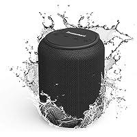 Tronsmart T6 Mini Altavoces Bluetooth 15W, 24 Horas de Reproducción, TWS Sonido Stereo 360°, IPX6 Waterproof, Altavoz…