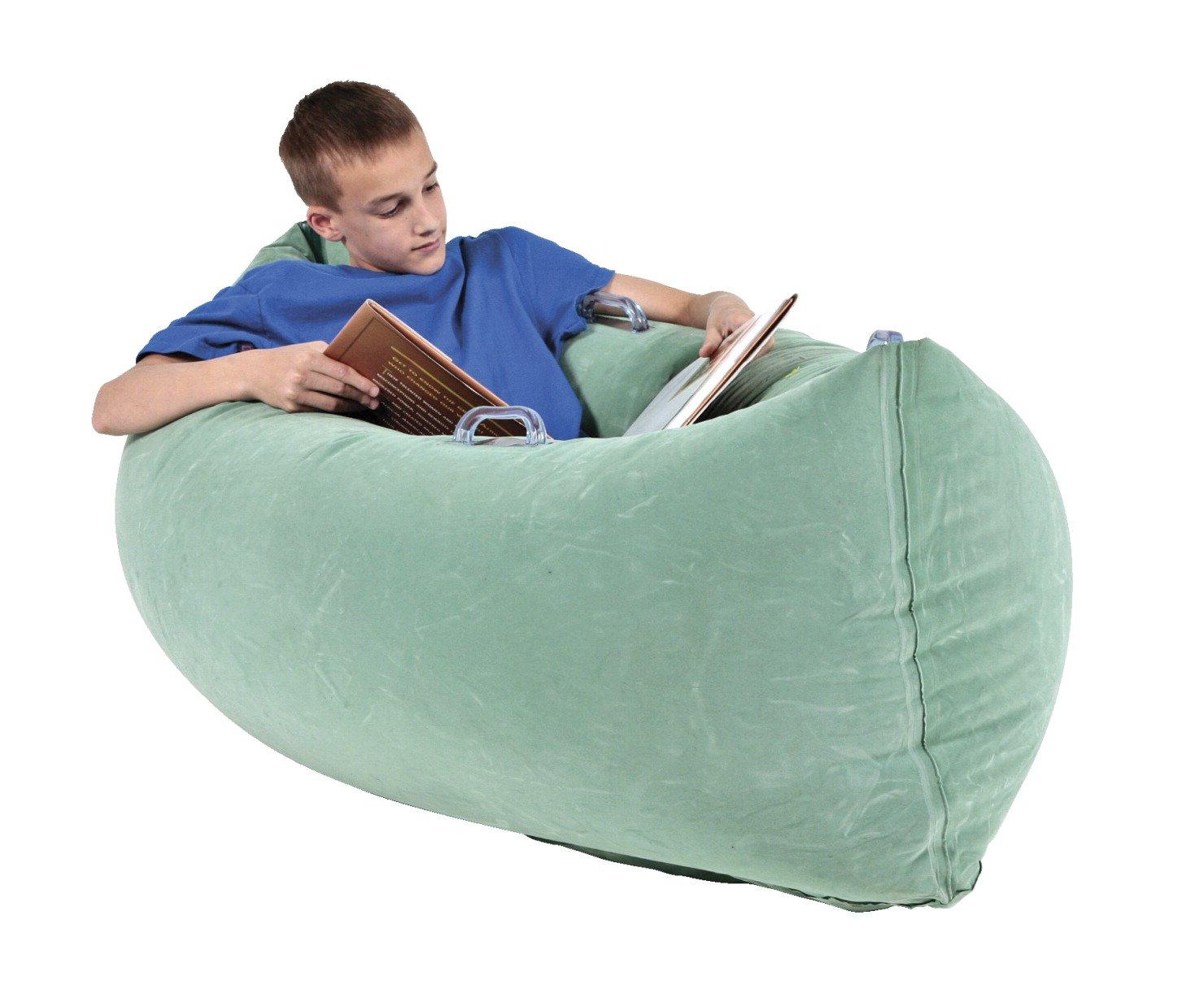 Abilitations Inflatable PeaPod Medium, 60 Inches, Vinyl, Green