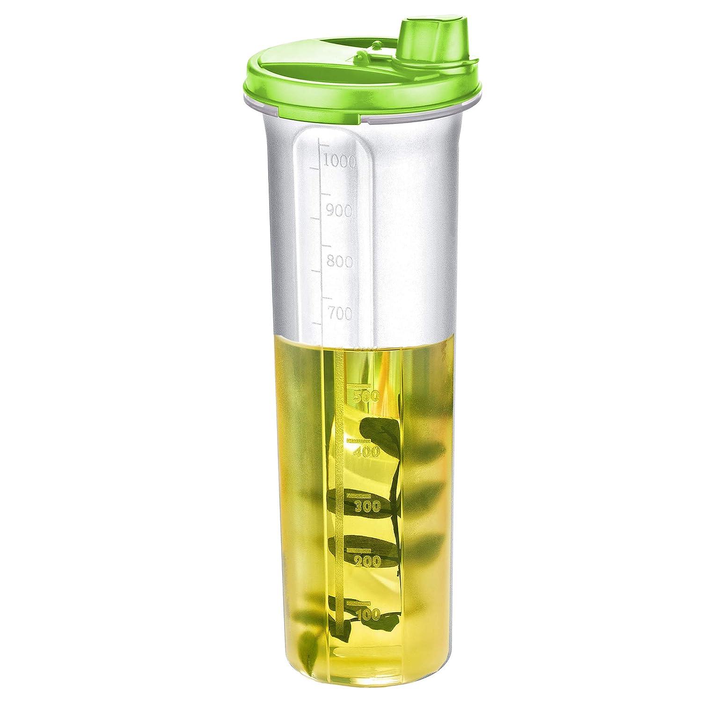 EVELYN LIVING Oil Dispenser Vinegar Cruet Plastic Bottle Pourer Bottle Cooking Home Kitchen