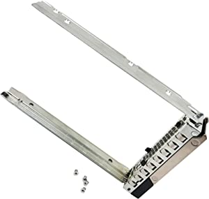 3.5 inch SAS SATA Hard Drive Caddy Compatible with Dell PowerEdge Servers - 14th Gen R440 R540 R640 R740 R740xd2 R6415 R7425 Hot Swap Bracket Tray X7K8W