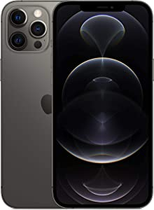 Apple iPhone 12 Pro Max, 128GB, Graphite - Fully Unlocked (Renewed)