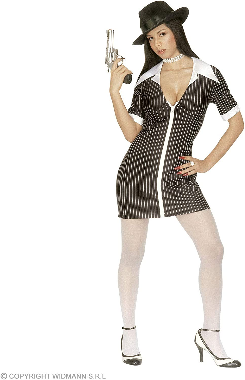 WIDMANN Desconocido Disfraz de Gangster Mujer Adulto: Amazon.es ...