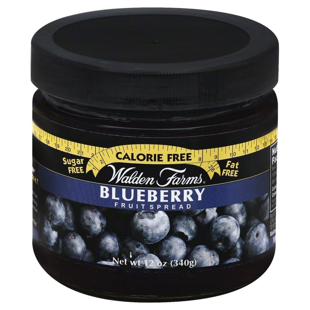 Walden Farms Blueberry Fruit Spread, 12 Ounce - 6 per case