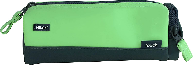 Milan Touch Duo Estuches, 20 cm, 0.9 litros, Verde: Amazon.es: Equipaje