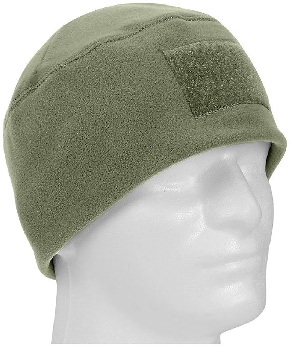 f62f3f69 Amazon.com: Foliage Green Military Winter Polar Fleece Hat Beanie Watch Cap:  Clothing