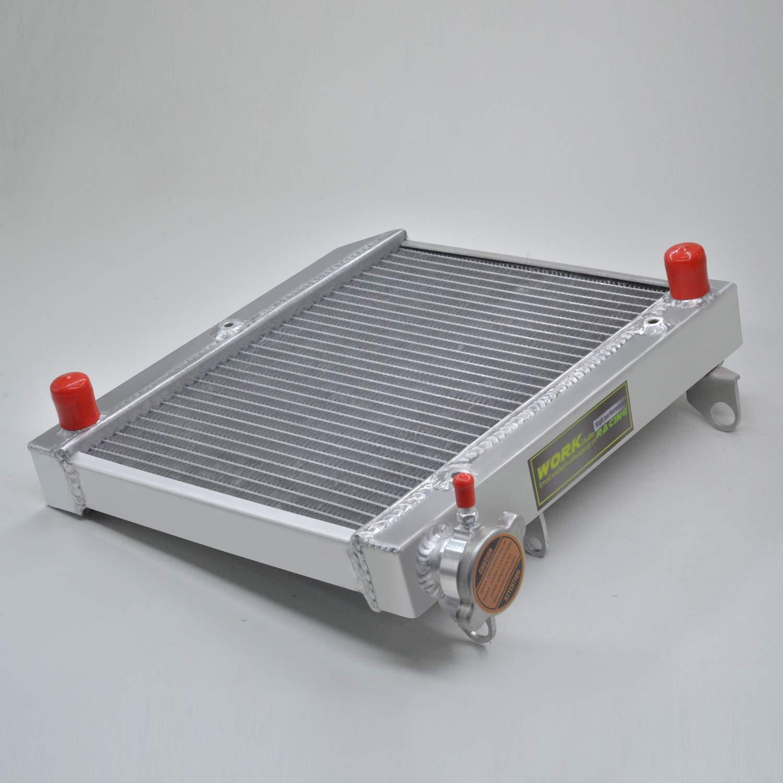 Aluminum Radiator compatible with Honda ATV TRX450R TRX450ER 2004 2005 2006 2007 2008 2009 radiator
