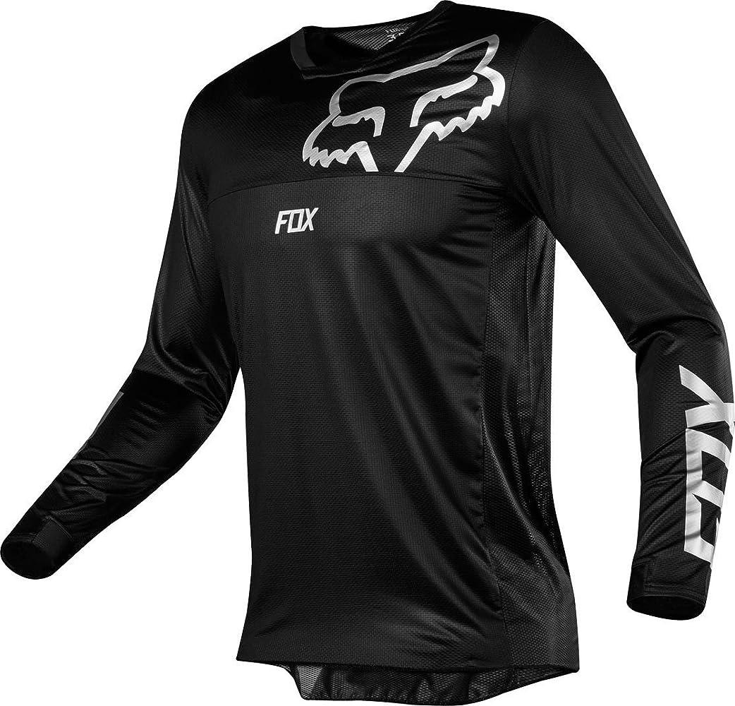 Fox Racing Airline - Camiseta de moto todoterreno para hombre - Negro - X-Large: Amazon.es: Ropa y accesorios