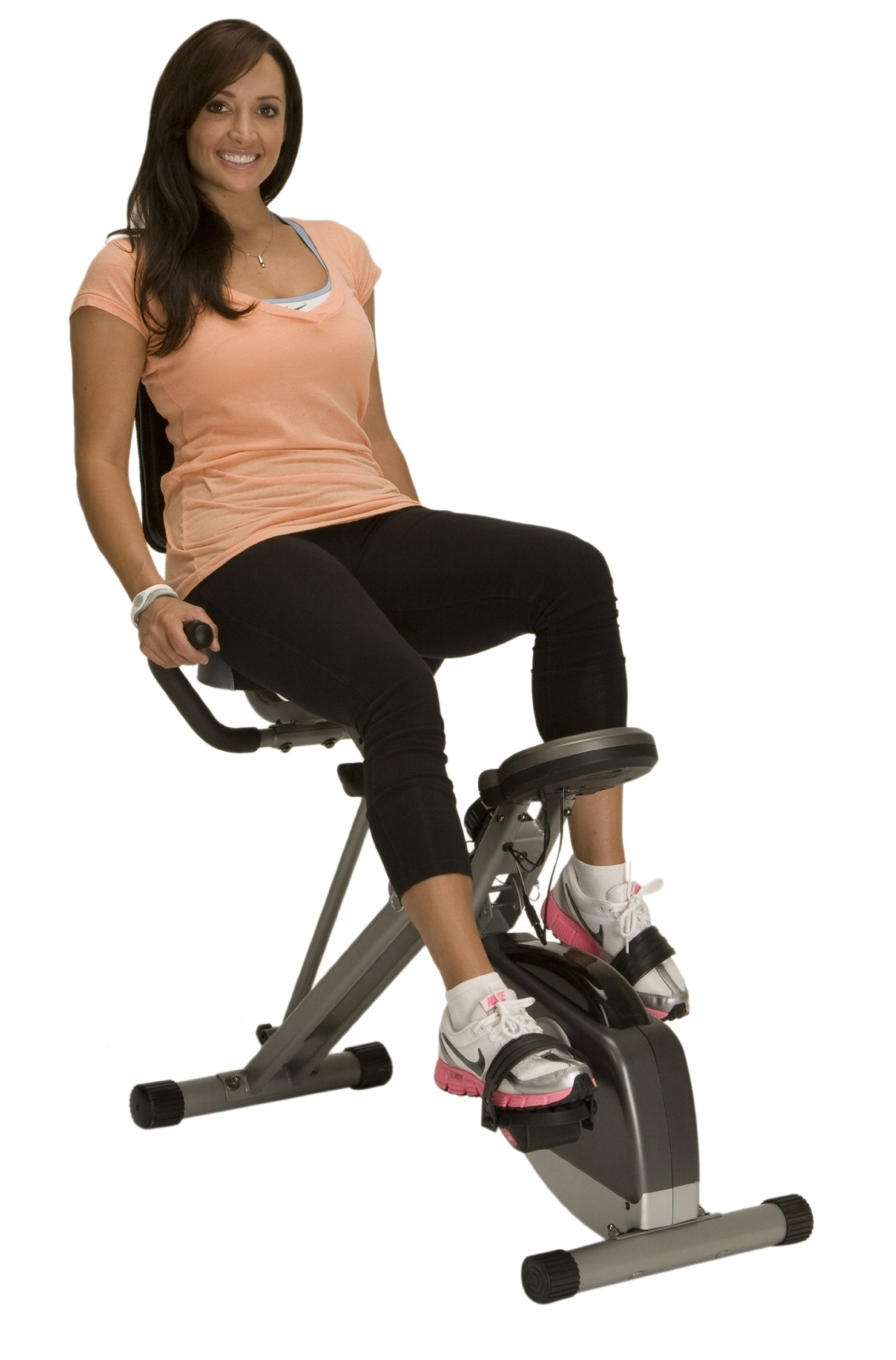 Exerpeutic 400XL Folding Recumbent Bike by Exerpeutic (Image #1)