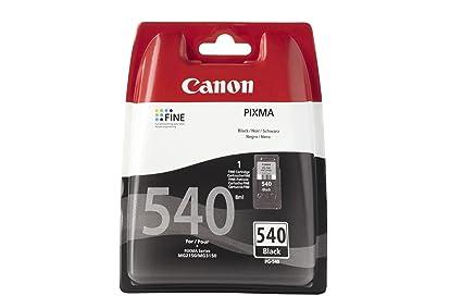 Canon PG-540 - Cartucho de Tinta para impresoras (Negro, Negro, Estándar, Ampolla)